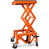 Pont Elevateur Hydraulique ConStands Moto Cross Lift XL + Roulettes Orange KTM 250/ 350/ 450/ SX-F
