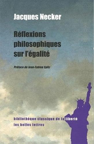 Réflexions philosophiques sur l'égalité
