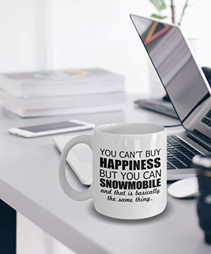 Snowmobile Mug Coffee Tea Cup Snowmobile Gift You Cant Buy Happiness But You Can Snowmobile Mug Coffee Tea Cup Snowmobile Love