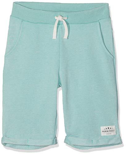 NAME IT NKMFERAN Long SWE Shorts UNB Bañador, Verde Ocean Wave Ocean Wave, 128 cm para Niños