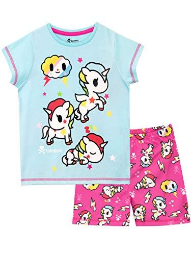 c9452a7eb8 Tokidoki Pijamas Manga Corta niñas Unicornio Azul