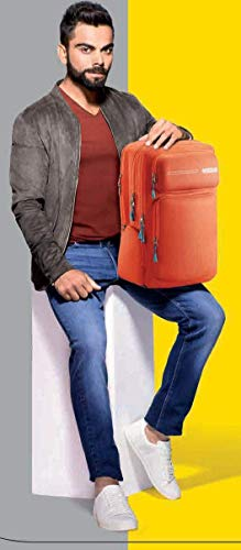 American Tourister Vibe NXT 02 Rust Red Laptop Backpack Image 2
