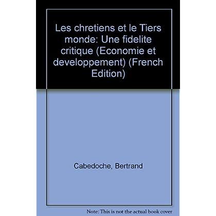 Les chrétiens et le tiers monde