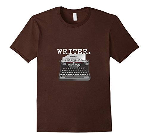 Men's Writer T-Shirt, Author Vintage Retro Typewriter Tee