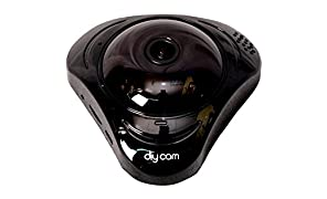 Diycam wireless wifi fish eye 360 panoramic IP camera CCTV security home survillance camera