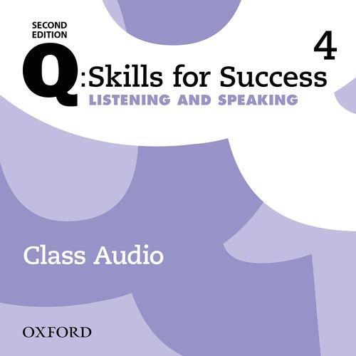 Q: Skills for Success: Level 4. Listening & Speaking Class Audio CD