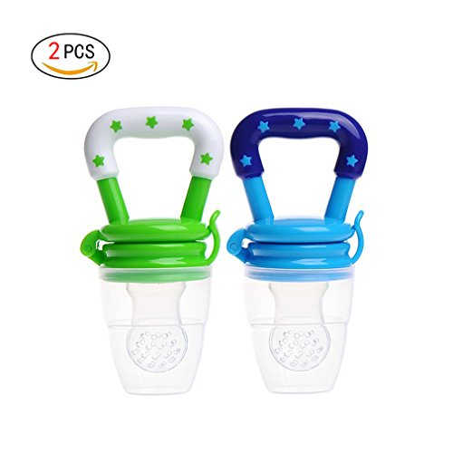 I bambini capezzolo Fresh Food Nibbler Feeder somministrazione di latte valori Baby Supplies bottiglie capezzoli Teat Ciuccio (S)