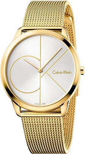 Calvin Klein Homme Analogique Quartz Montre avec Bracelet en Acier Inoxydable K3M21526
