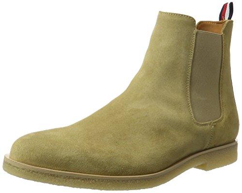 Tommy Hilfiger Herren W2285ILLIAM 2B Chelsea Boots, Beige (Cashmere), 45 EU (Wildleder-boot Beige)