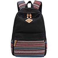 Vintage Aztec Tribal Unisex Canvas Backpack Rucksack Laptop School Bags