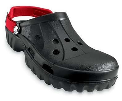 crocs Offroad Clog,Black/Red,Men's 7 M/Women's 9 M