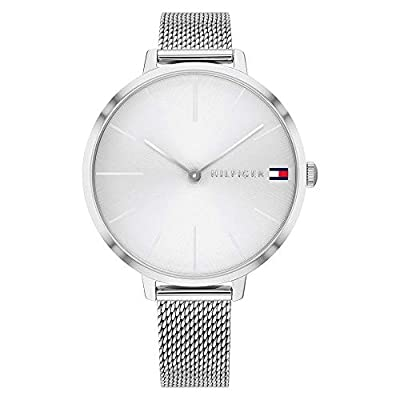 Tommy Hilfiger Reloj Analógico para Mujer de Cuarzo con Correa en Acero Inoxidable 1782163