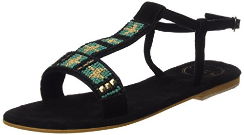 Coolway Maddy, Sandali a Punta Aperta Donna, Nero (Blk), 40