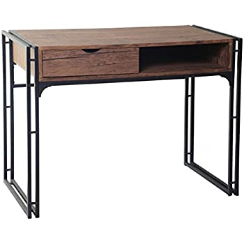 ts ideen bureau design table console table de travail bureau informatique finition bois mdf et. Black Bedroom Furniture Sets. Home Design Ideas