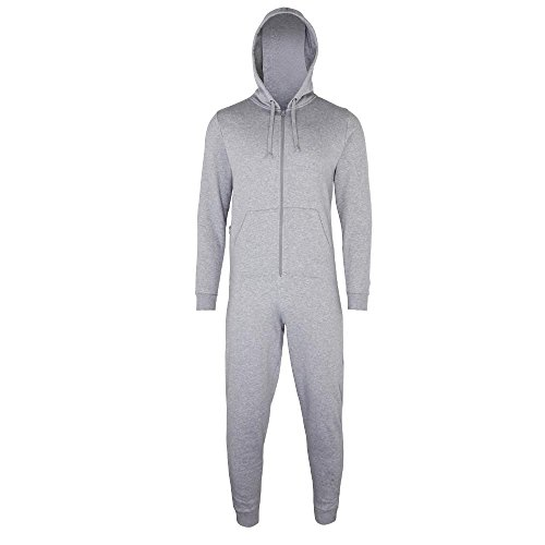 Comfy Co - Jumpsuit 'All-in-One' Heather Grey