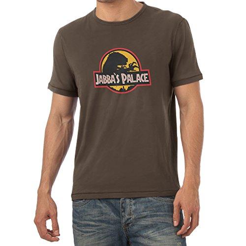 NERDO - Jabba's Palace - Herren T-Shirt Braun