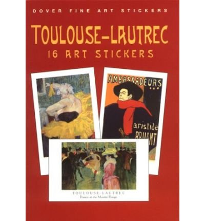 Toulouse Lautrec: 16 Art Stickers (Fine Art Stickers) (Paperback) - Common