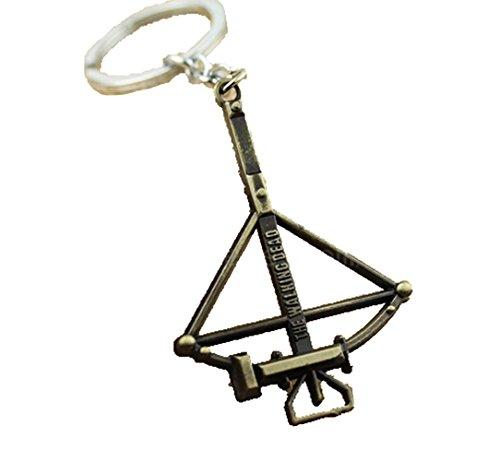 Gudeke The Walking Dead Archer Metal Key Ring Keychain Schlüsselanhänger (Bronze-)
