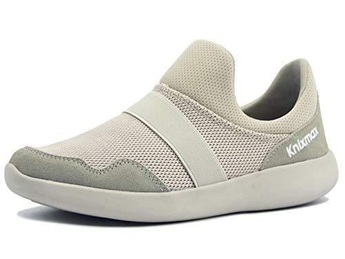 Knixmax-Zapatillas sin Cordones para Mujer, Zapatillas de Deportivo Sneakers Running Zapatillas de Malla...