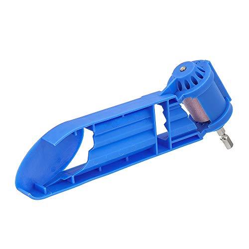 Asdomo Portable Drill Bit Sharpener Corundum Grinding Wheel Hand Portable Powered Tool -