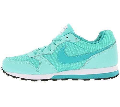 Nike Md Runner 2 (Gs), Scarpe da Corsa Donna Turquesa (Hyper Turq / Clear Jade-Volt-White)