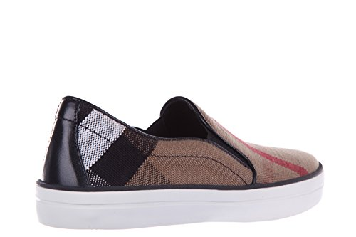 Burberry slip on Damen nuove sneakers originali guaden beige Beige