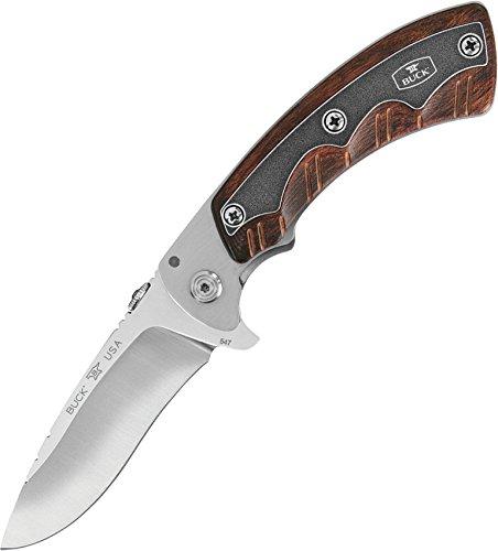 Buck 7547 Couteau fermant Mixte Adulte, Marron, Taille Unique