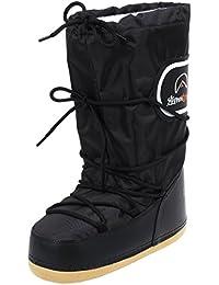 Ligne neige chamois Halle En Noir Homme Chaussures botte La LzGqSUVpM