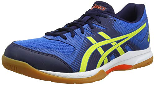 ASICS Gel-Rocket 9, Scape per Sport Indoor Uomo, Blu (Electric Blue/Sour Yuzu 400), 49 EU