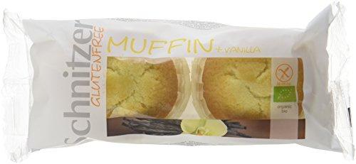 Schnitzer Vanille Muffins -Glutenfrei- Bio Brot, 6er Pack (6x 140 g)