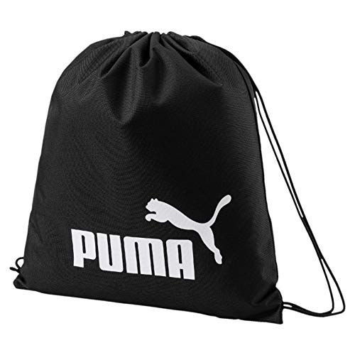 Puma Phase Gym Sack Turnbeutel, Black, OSFA