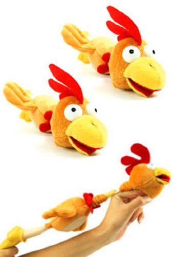 Imagen principal de Flying Chicken Peluche (Funtime Gifts)