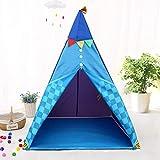M-Import Tipi Spielzelt mit Nachtlicht für Kinder - Spielecke für Ihre Kleinen