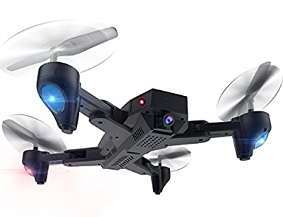 Powpro Cair PP-XS809 WIFI FPV Mini Foldable Quadcopter Drone Altitude Hold Settable Flight Trajectory 2MP RC Drone