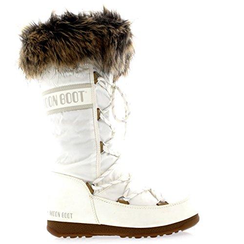 MOON BOOT MOON BOOT femme W.E. MONACO FEUTRE BLANC 24003200001 Bianco