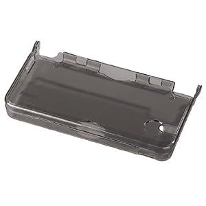Crystal Case für Nintendo DSi XL, Transparent-Schwarz