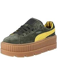 e84af3490ba Puma X Fenty Wmn Cleated Creeper Suede 366268 01 Verde Zapatillas para Mujer