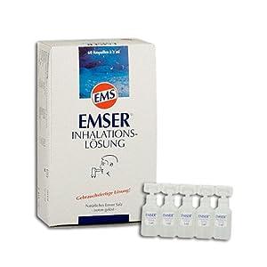 EMSER Inhalationslösung, 60 St. Ampullen