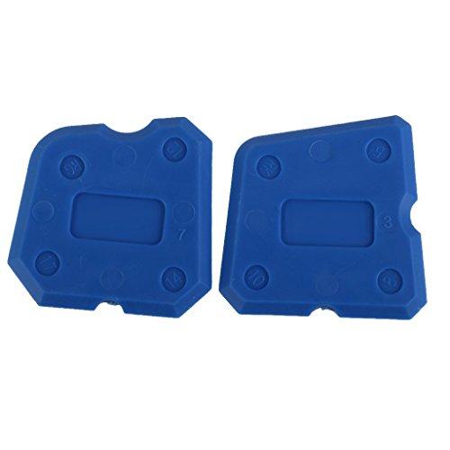 Einstemm Werkzeug Kit Silikonfugendichtstoff Fugen Entferner Schaber 4 Stk. Blau
