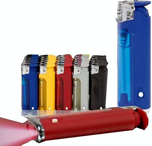 feuerzeug mit licht 75x Nass Feuerzeug mit Licht (weiße LED)