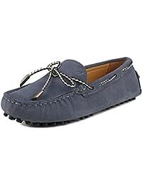 Shenduo Zapatos Casuales - Mocasines de Cuero Suave cómodos Antideslizantes para Mujer D9123