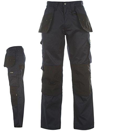 DUNLOP Herren On Site Cargo Safety Arbeitshose Hose Mit Taschen Arbeitskleidung Blau Medium Medium Schock