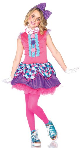 Child Leg Avenue Clown Cutie Girls Costume : Extra Small (Age 2 - - Leg Avenue Kostüm Europa