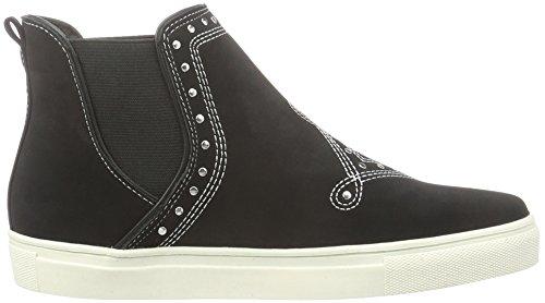 Vero Moda Vmbella Hightop Sneaker, Baskets Basses Femme Noir - Noir