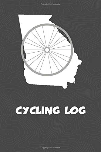 Cycling Log: Georgia Cycling Log for tracking and monitoring your workouts and progress towards your bicycling goals. A great fitness resource for any ... Bicyclists will love this way to track goals! por KwG Creates