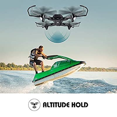LBLA Drone With Camera Live Video,WiFi FPV Quadcopter with 120° Wide-Angle  720P HD Camera Foldable Drone RTF - Altitude Hold, One Key Take Off/Landing, 3D Flip, APP Control