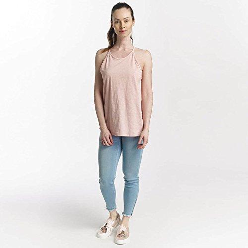 Billabong Damen Essential Tank Point T-Shirt Blush