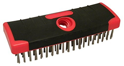 red-devil-4166-7-inch-soft-grip-stainless-steel-scrub-brush-by-red-devil