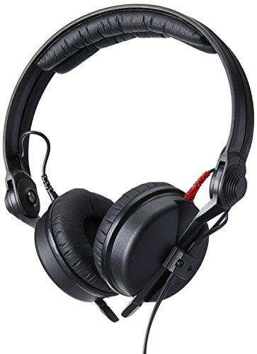 Sennheiser HD 25Black supraaural Headphone-Headphones (supraaural, Wired, 16-220000Hz, 120dB, 3m, Black) Black Hd Kopfhörer