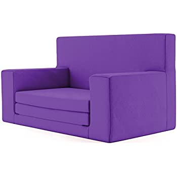 couch bed for kids. 2 In 1 Childrens Sofa Bed Radiant Orchid With Memory Foam Blend \u2013 Super Soft \u0026 Safe Flip Out Couch For Kids Age -4 - TV Lounge Furniture Junior